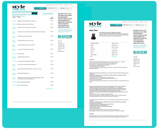 Canadian Style Resume,Marketing Analyst Resume Canada Style PDF by ...