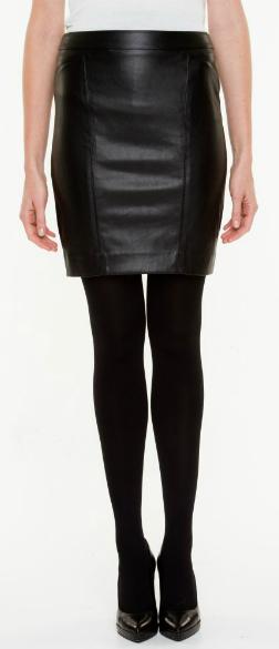 le chateau leather skirt