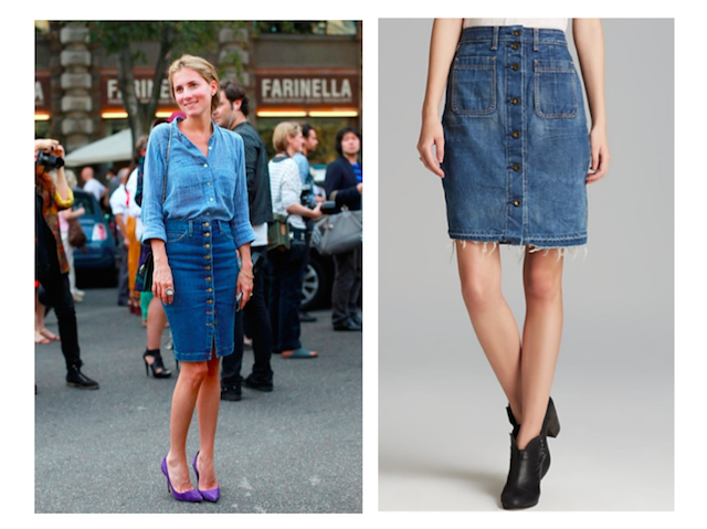 Jean Skirt Canada - Dress Ala