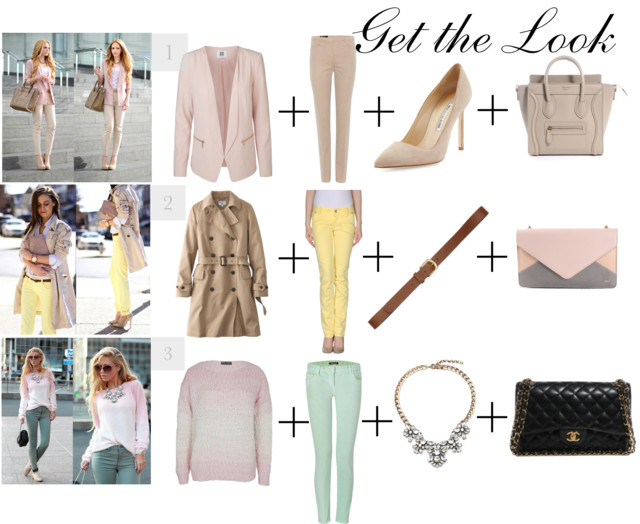 Fall Fashion - Soft Pastels