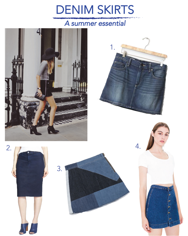Fashion Jobs – Denim Skirts | Fashion Jobs in Toronto, Vancouver ...