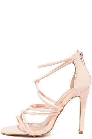 blush heels