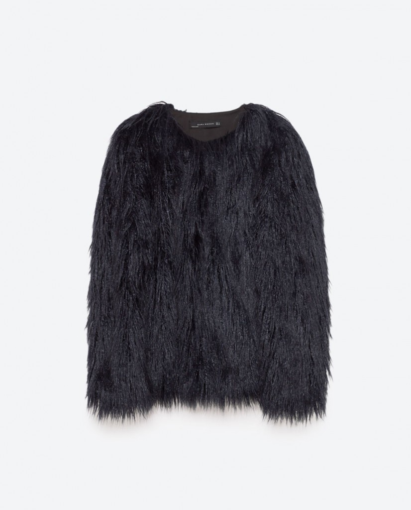 Faux Fur Zara