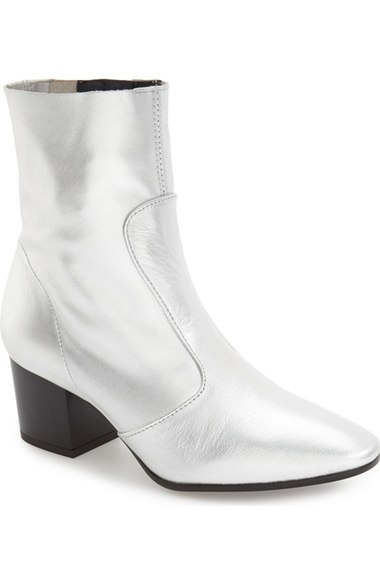2. Silver Booties