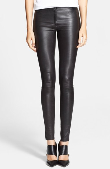 4. Leather Pants
