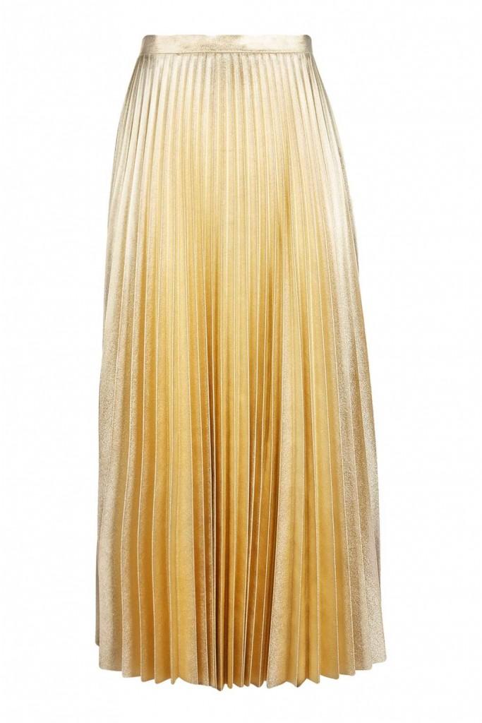 5. Gold Skirt