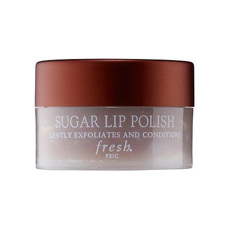 7. lip scrub