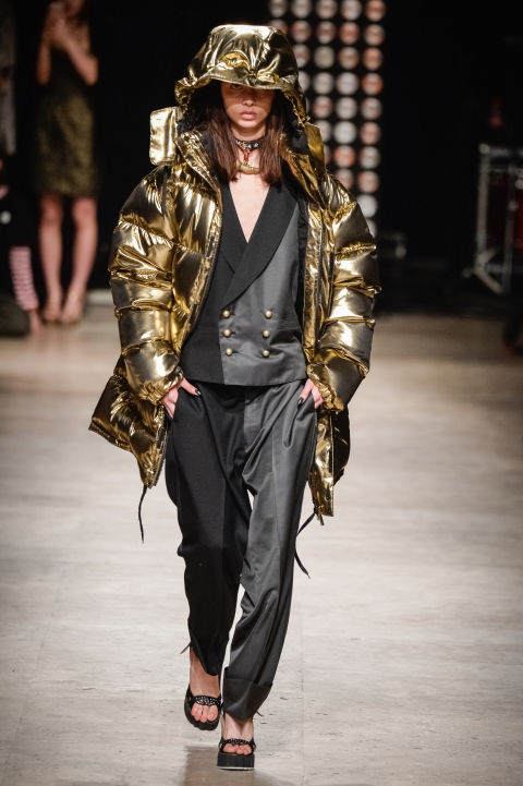 2. Chic Puffer Coat