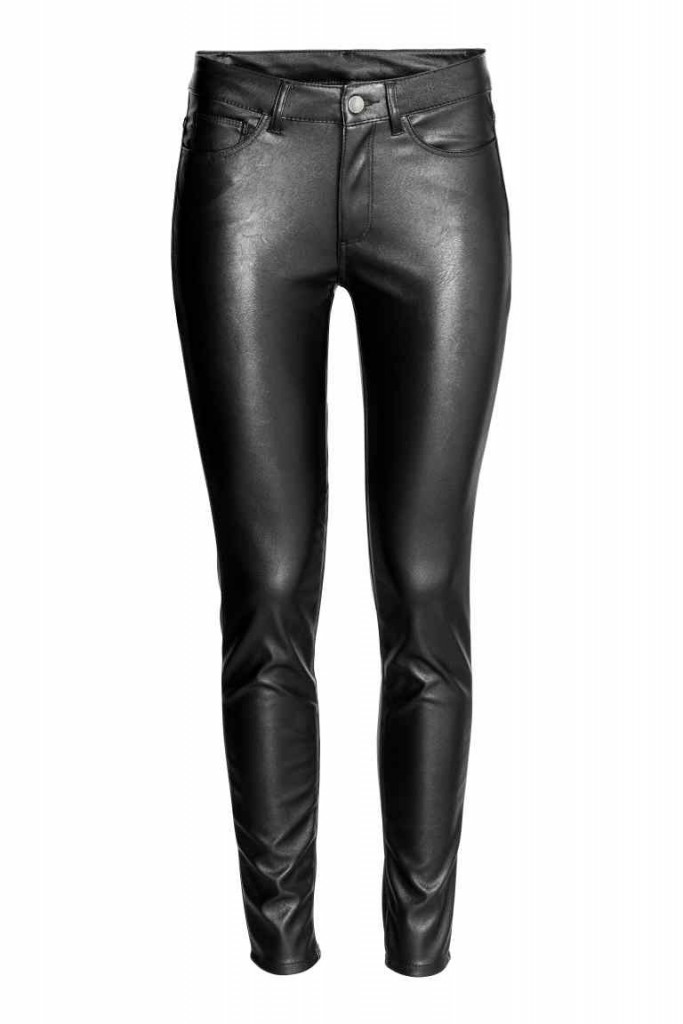 3.Leather pants