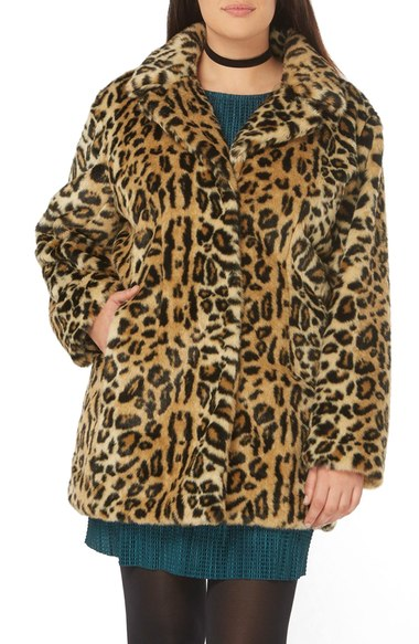 8.leopard jacket