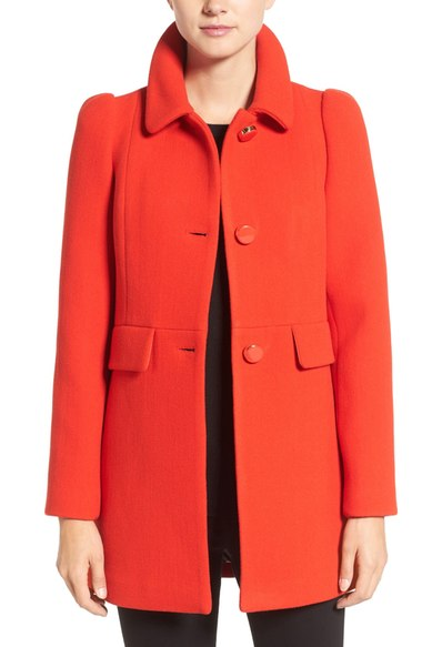 9. red outerwear