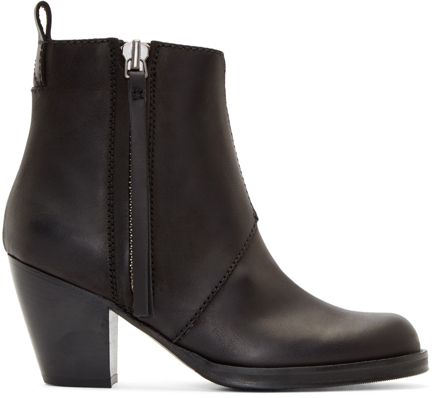 2. Acne Ankle Boots