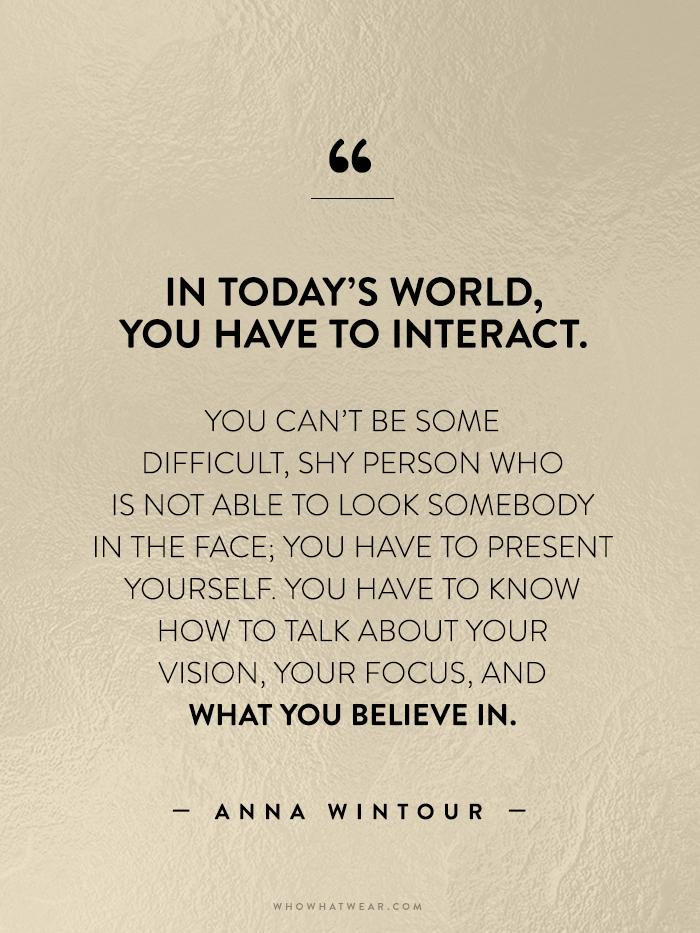 2. Anna Wintour Quote