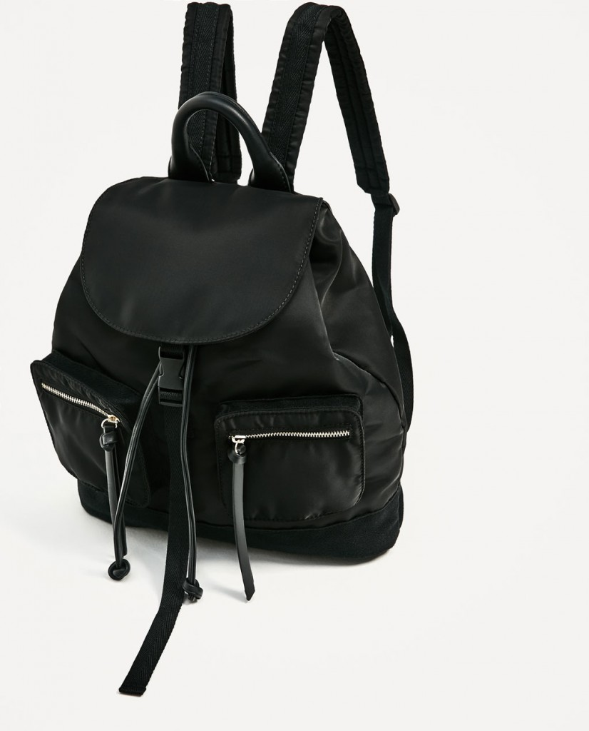 4. Zara Technical Backpack