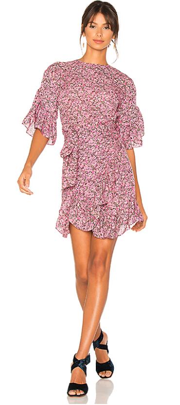 5. Floral Dress