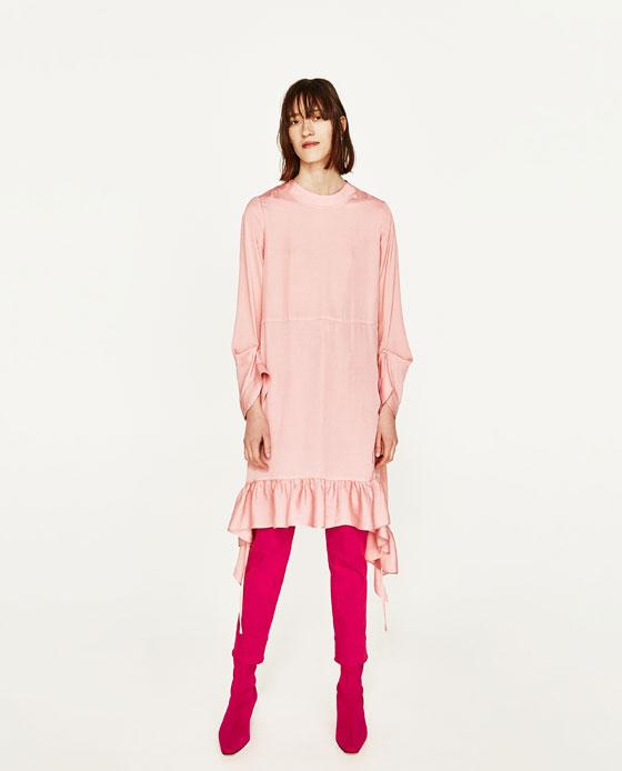 7. Pink Dress