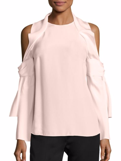 8. Pink Off the Shoulder Top