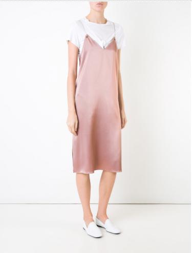 9. pink slip dress