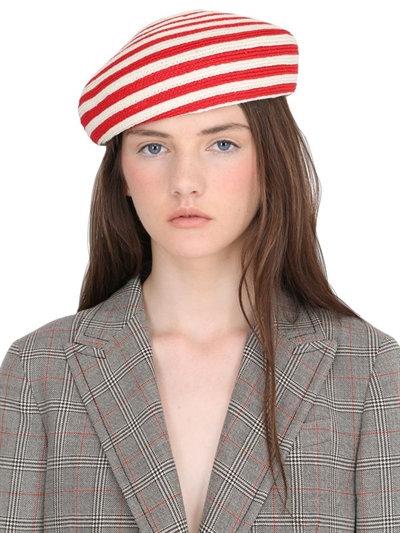1. Striped Beret
