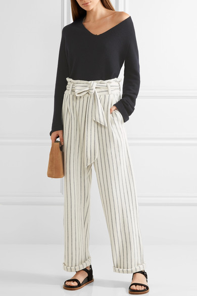 2. Wide Leg Trousers