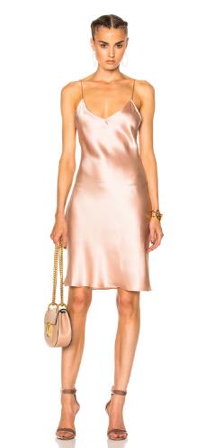 10.Rose Slip Dress