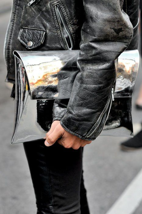 2. The edgy clutch