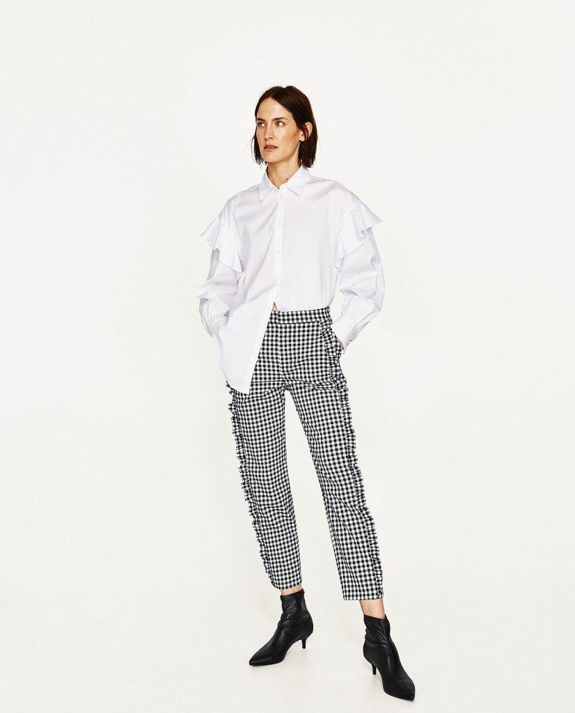 4. Gingham Trousers