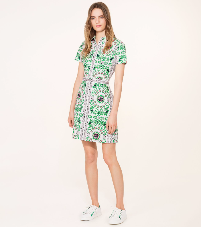 4. The Printed Dress