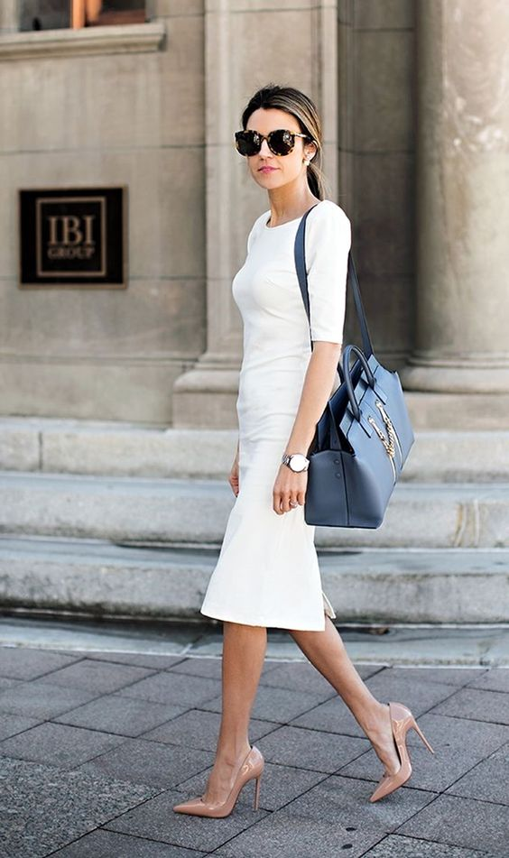 7. The White Dress