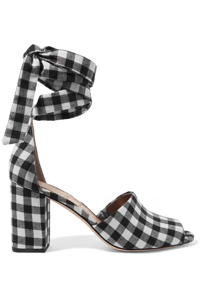 2. Gingham shoes