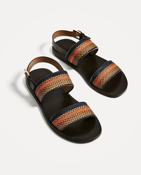 2. Zara Gladiator Sandal