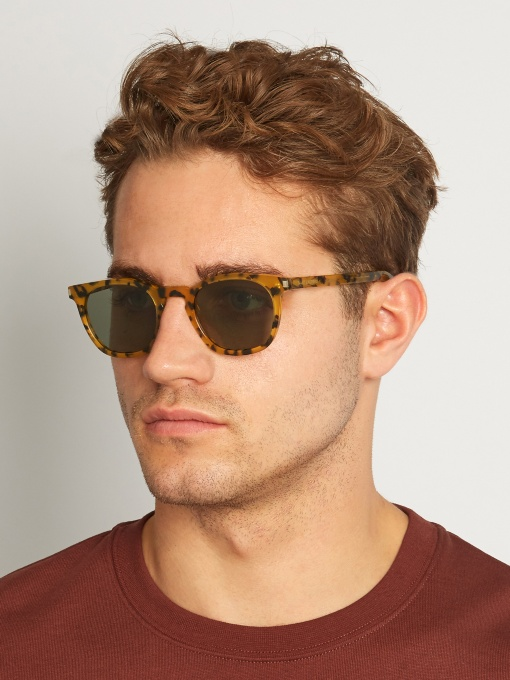 4. D-Frame Sunglasses