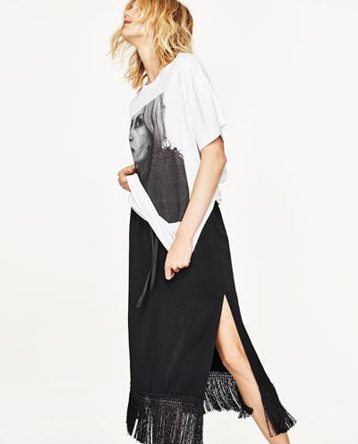 4. Fringe Skirt