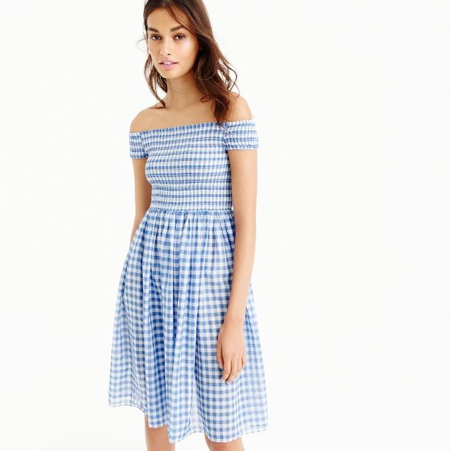5. Gingham Dress