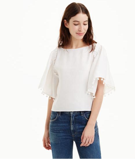 5. Pompom shirt