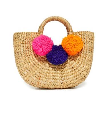 6. Pompom bag