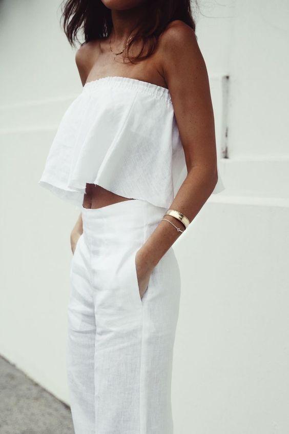 All white inspo image