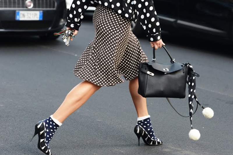 polka dot accessories