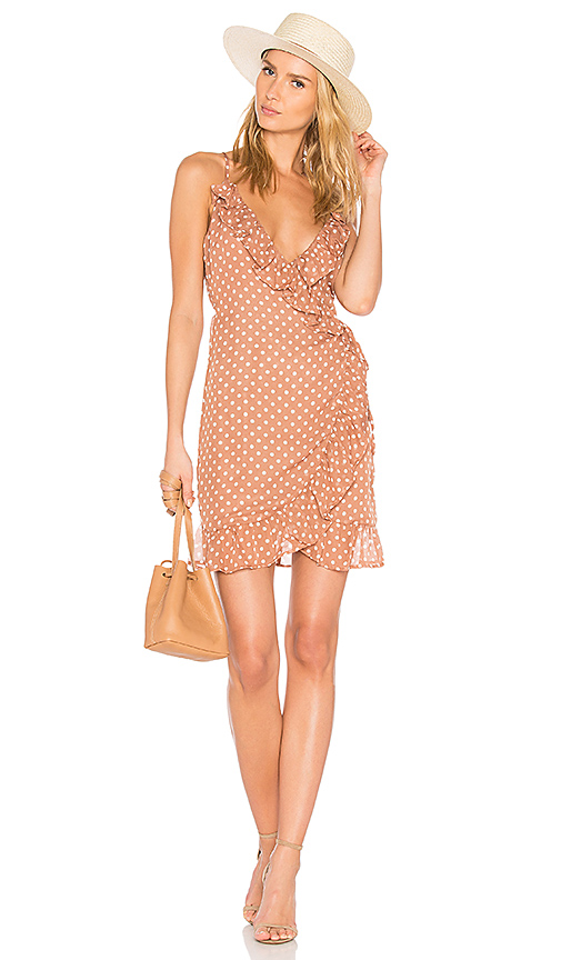 polka dot dress revolve