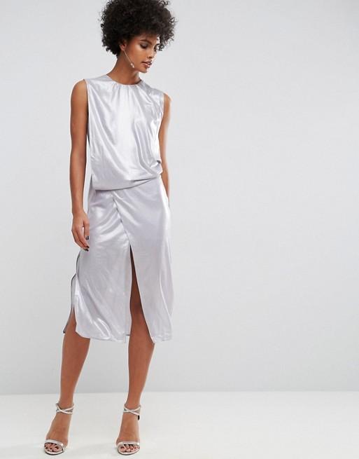 shine dress asos