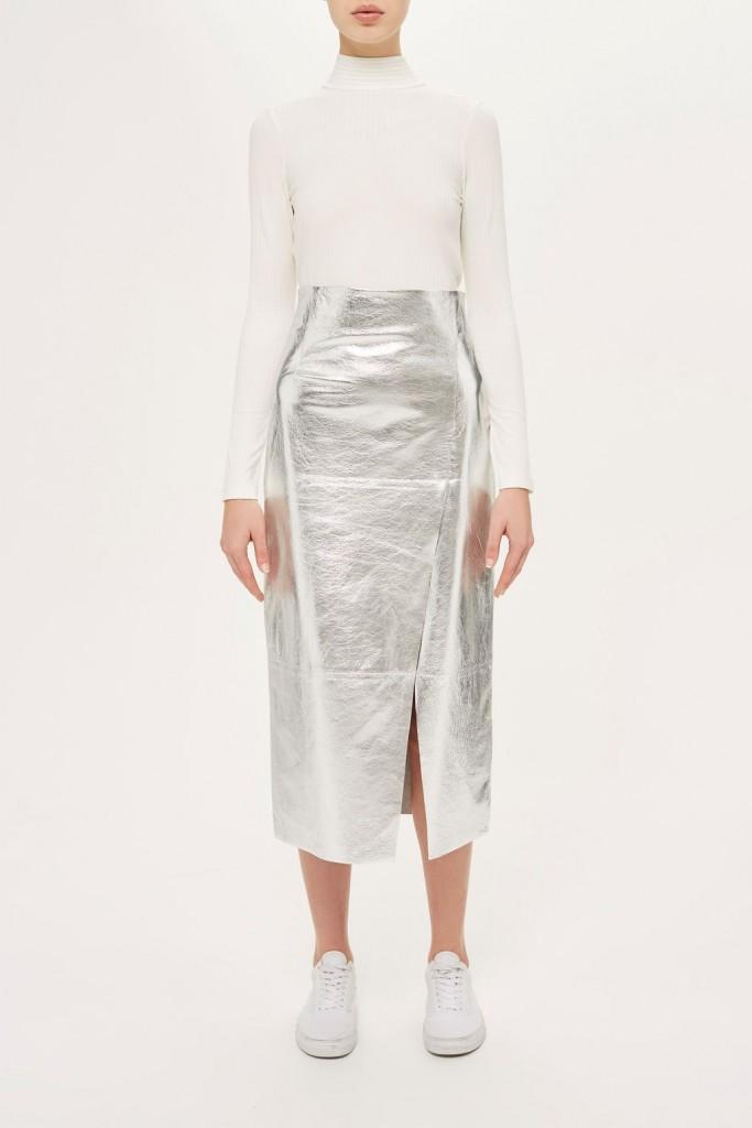 shine skirt topshop