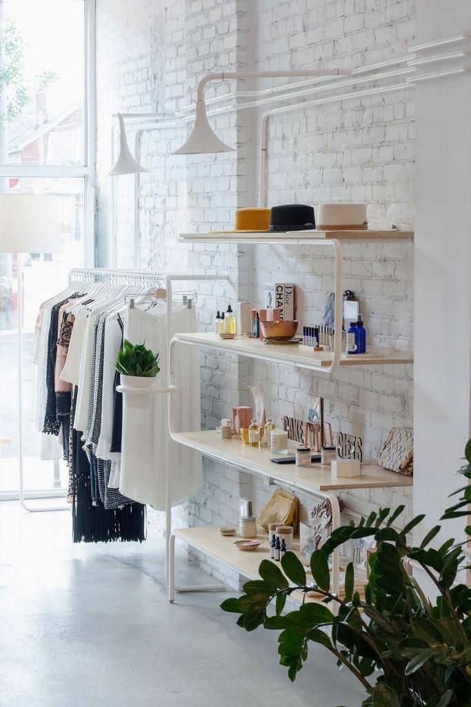 shop wall