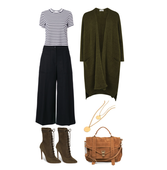 Culottes in Fall Office