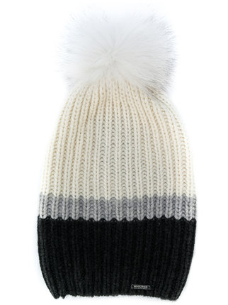 STNF_WINTER TOQUE STYLE_WOOLRICH RIBBED CASHMERE HAT