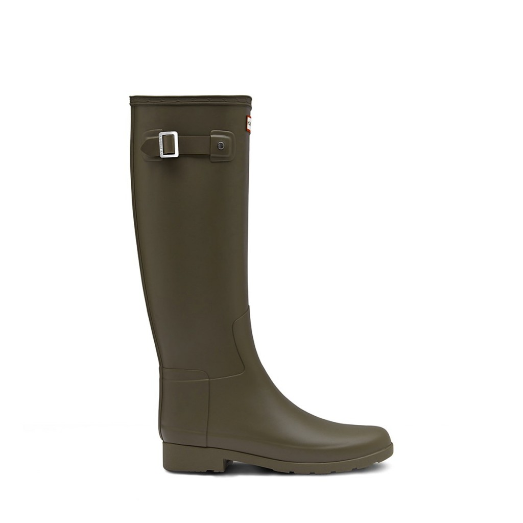 Style Nine To Five_Rain Boots For April Showers_Hunter Green Talll Refined