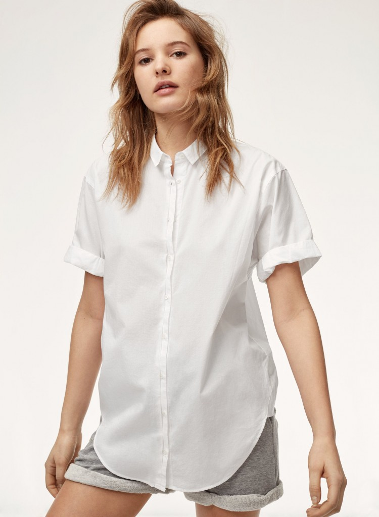 Style Nine To Five_Staple Pieces For Summer_Community Howley Blouse Aritzia