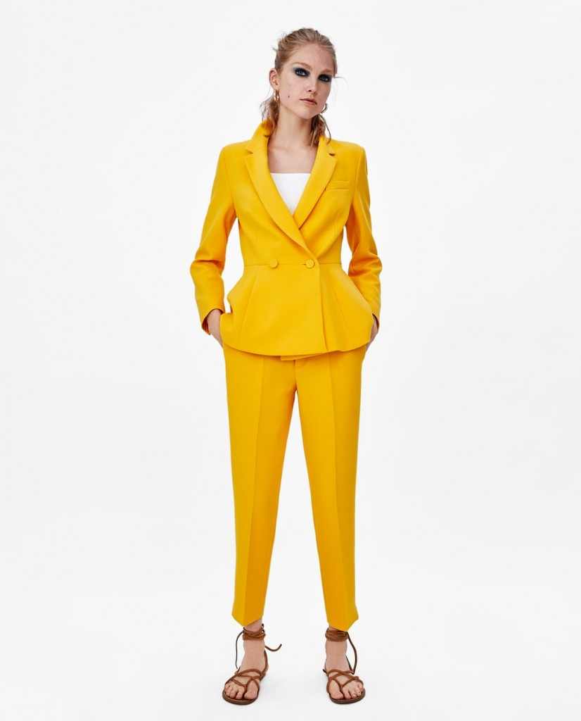Style Nine To Five_Two Pieces You Can Wear To The Office_Zara Two Piece Suit
