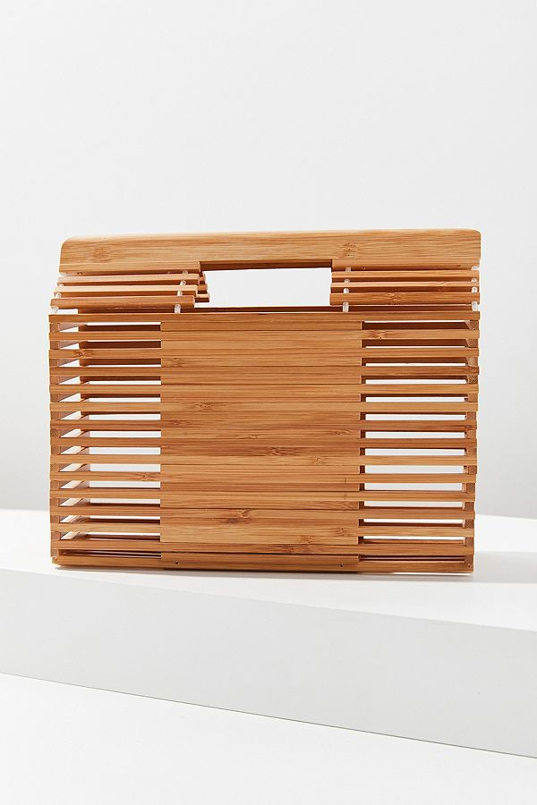 SNTF_Beach Inpired Bags_Caged Bamboo Clutch