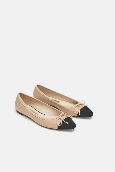 SNTF_Flats For Pre-Fall_Zara Two-Toned Flats