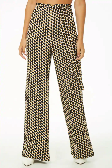 STNF Pattern Trouser Picks_Forever 21 Geo Print Palazzo Pants